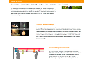 Screenshot Website Schönblick