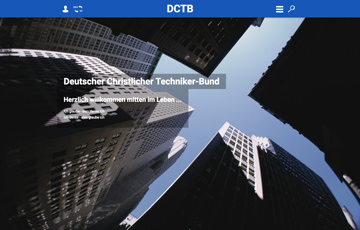 Screenshot Website DCTB