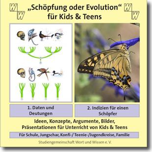 """""""Schöpfung oder Evolution"""" für Kids und Teens (Download-Link)"""