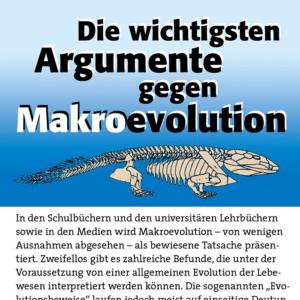 Die wichtigsten Argumente gegen Makroevolution